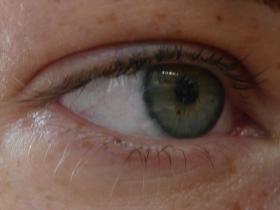 oční linka před